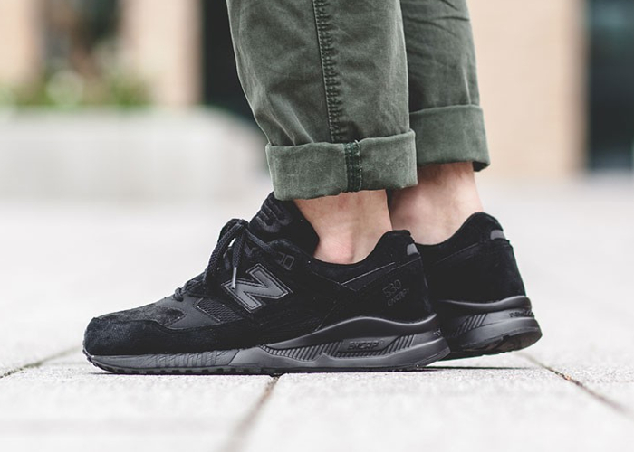 acheter basket New Balance M530AK Triple Black (noire) Perforated (3)