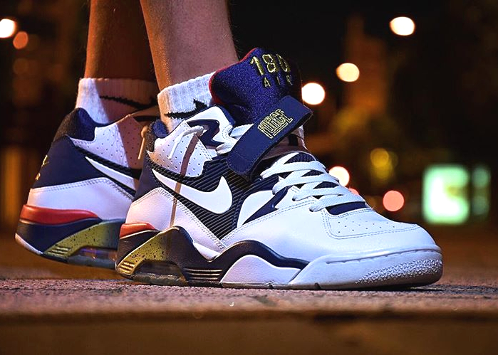 acheter basket Nike Air Force 180 Olympic Charles Barkley Rio 2016 - @snorkal80