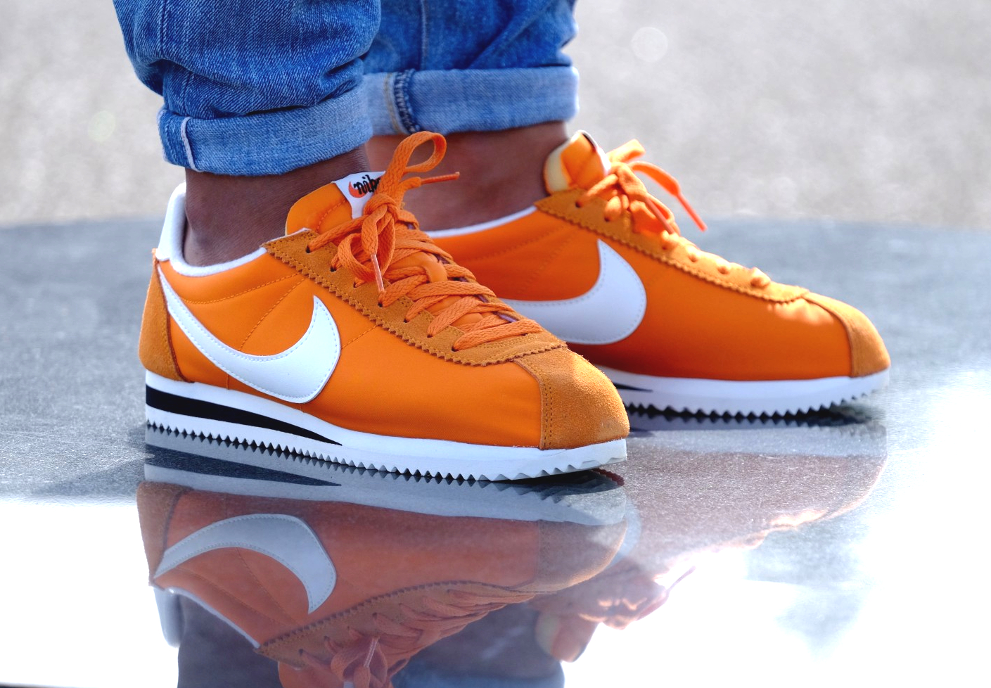 acheter basket Nike Cortez Nylon AW Clay Orange (2)