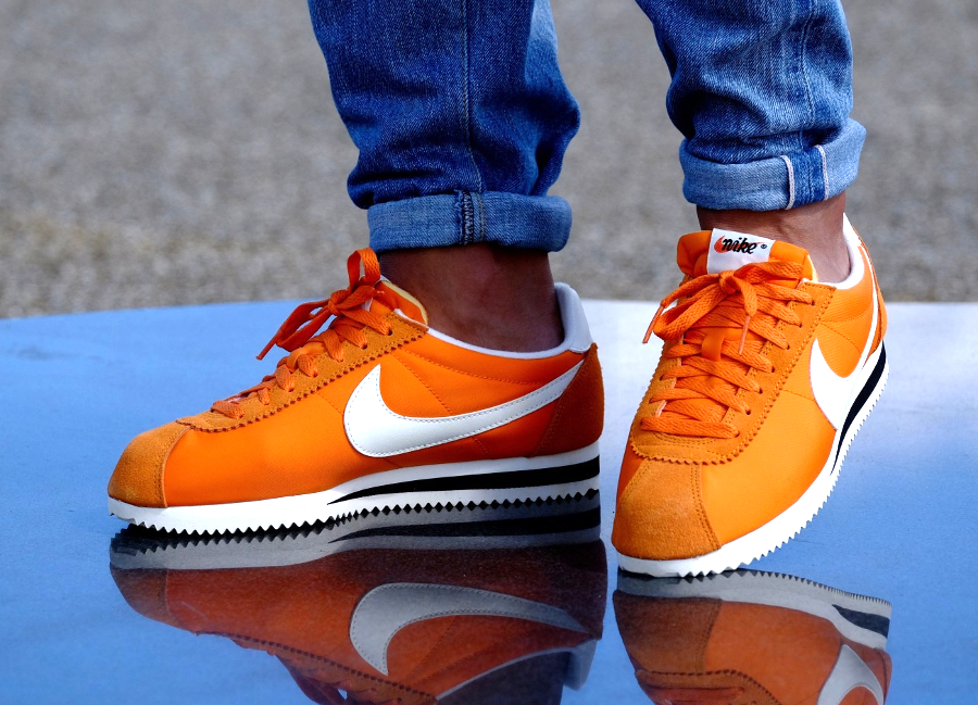 acheter basket Nike Cortez Nylon AW Clay Orange (3)