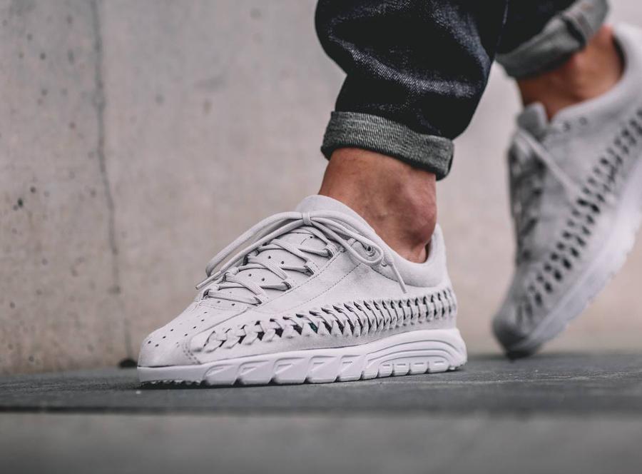 acheter basket Nike Mayfly Woven Neutral Grey (grise) (1)