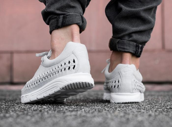 acheter basket Nike Mayfly Woven Neutral Grey (grise) (5)