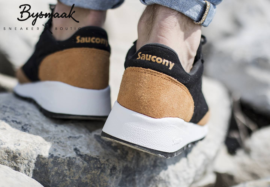 acheter basket Saucony Jazz '91 'Black Yellow' (2)