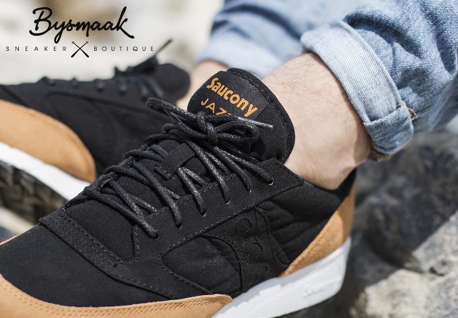 acheter basket Saucony Jazz '91 'Black Yellow' (4)
