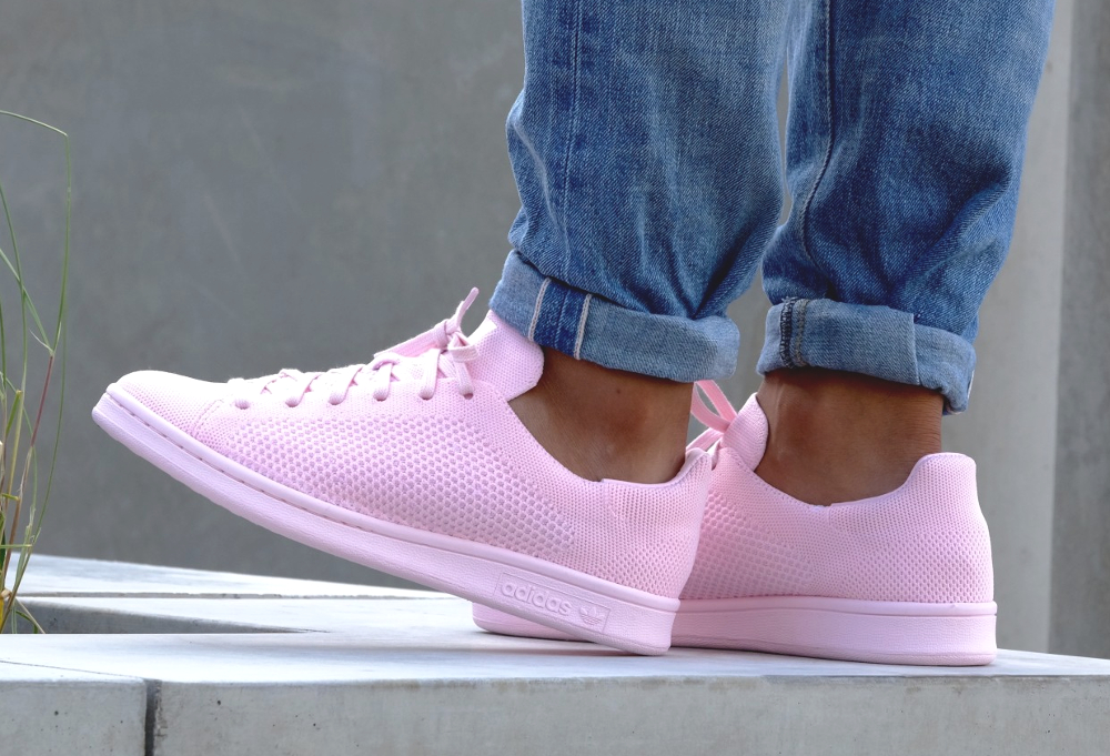 acheter chaussure Adidas Stan Smith PK Primeknit Pink Glow (3)