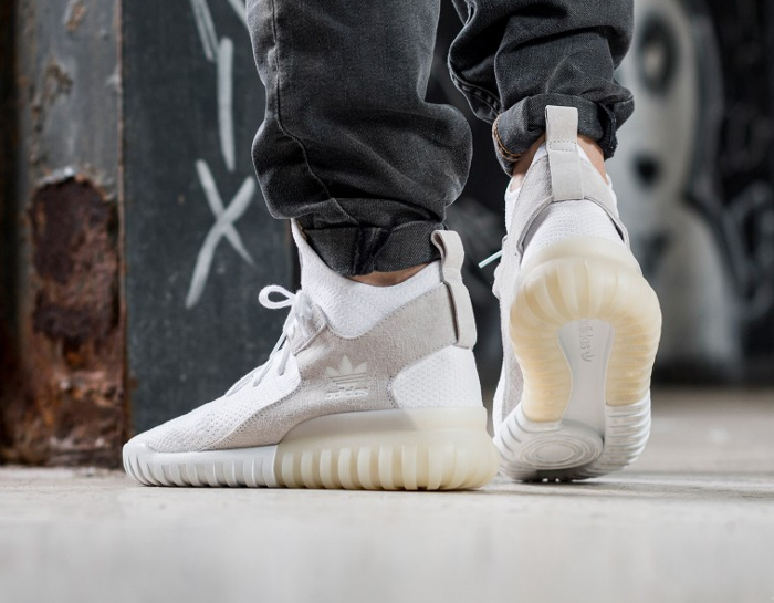 acheter chaussure Adidas Tubular X Primeknit Footwear White (semelle translucide) (2)