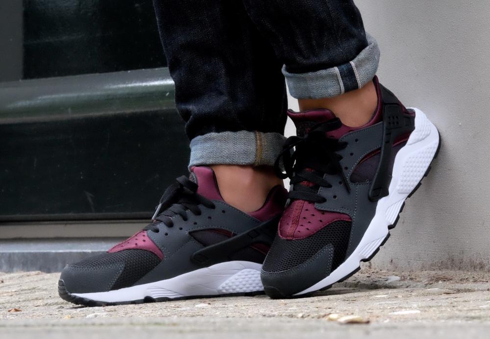 acheter chaussure Nike Air Huarache Night Maroon (3)
