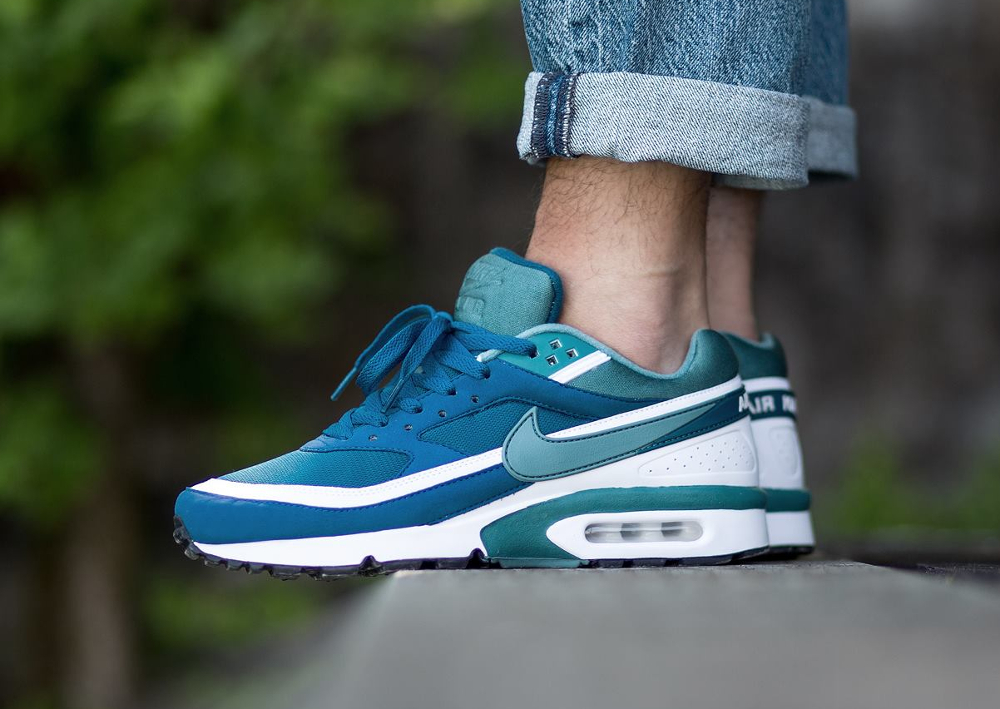 the best attitude d1b05 130d0 acheter chaussure Nike Air Max BW OG Marina Blue Jade 2016 (1)