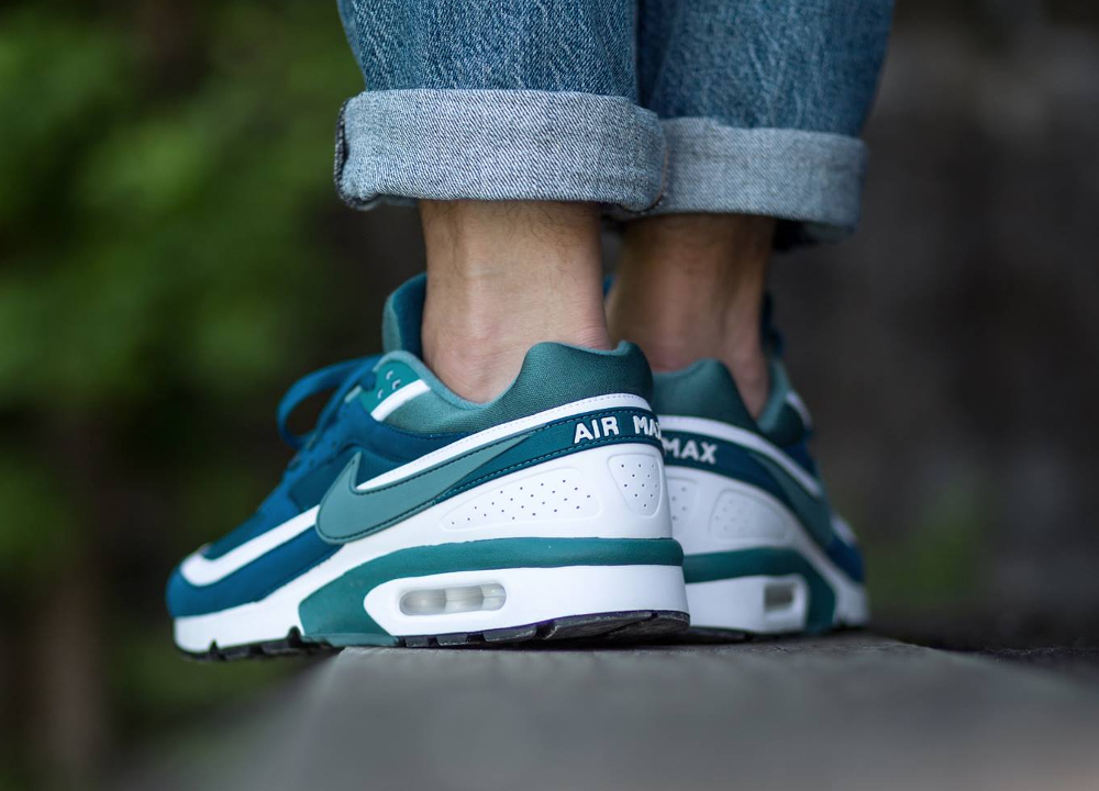 buy popular caf1f 0b440 ... coupon for acheter chaussure nike air max bw og marina blue jade 2016 3  22580 728c0