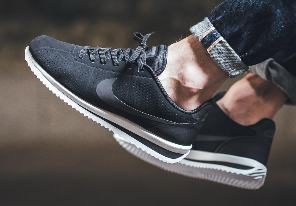 super popular e61e1 71597 ... acheter chaussure Nike Cortez Ultra Moire Black White (2) ...