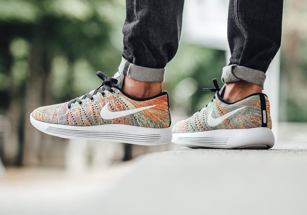 acheter chaussure Nike Lunarepic Low Flyknit 'Multicolor' (homme & femme) (2)