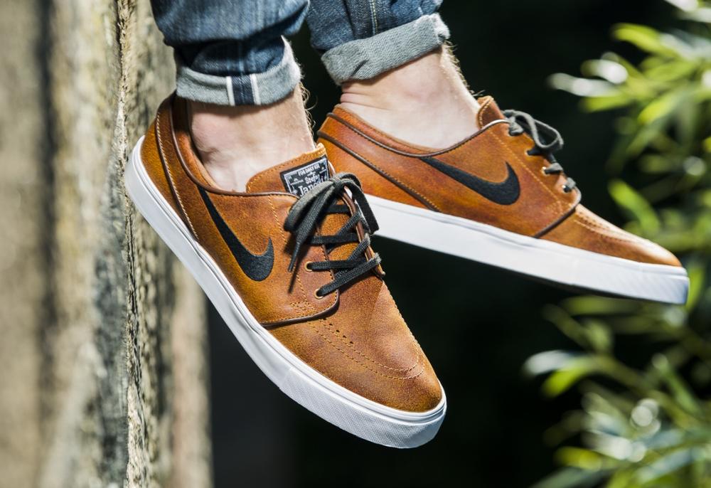 Où trouver la Nike SB Stefan Janoski Elite Leather 'Ale Brown ...
