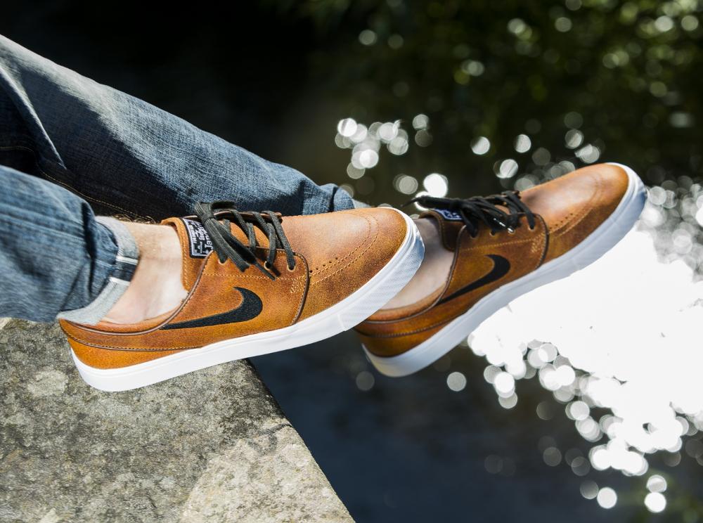 acheter chaussure Nike SB Stefan Janoski Elite Leather 'Ale Brown' (marron) (2)