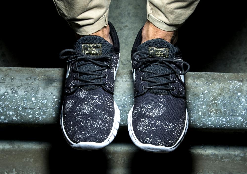 acheter chaussure Nike SB Stefan Janoski PRM Swarm Black Neutral Olive (3)