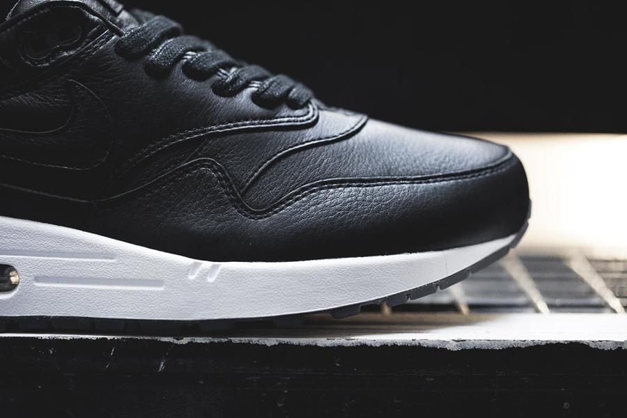 chaussure Nike Air Max 1 Pinnacle Black (cuir premium noir) (2)