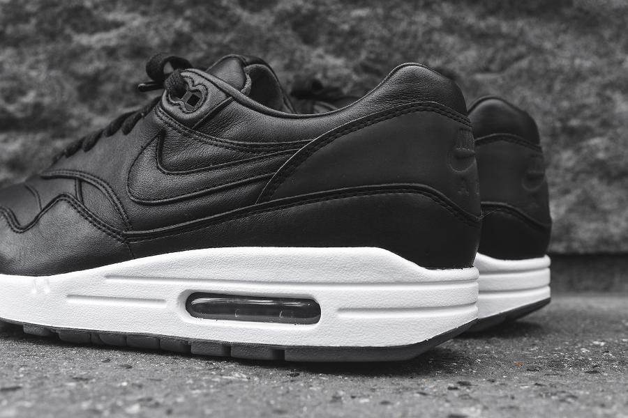 chaussure Nike Air Max 1 Pinnacle Black (cuir premium noir) (5)