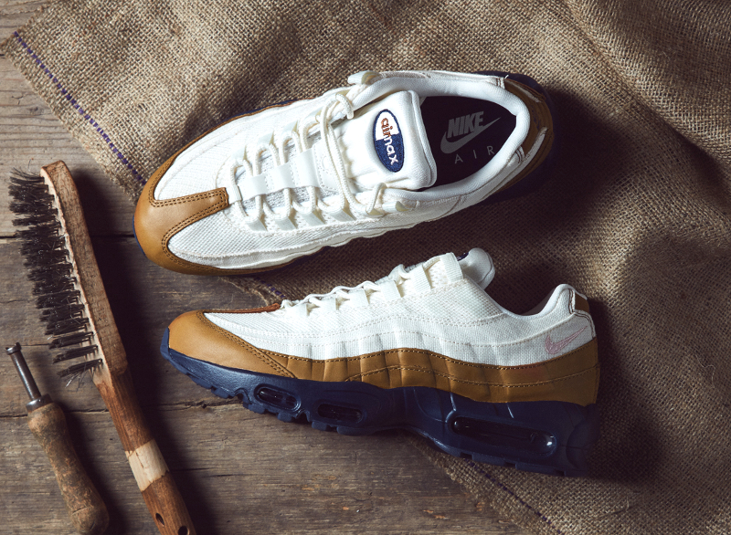 chaussure Nike Air Max 95 PRM Ale Brown Pearl Pink Mid Navy (1)