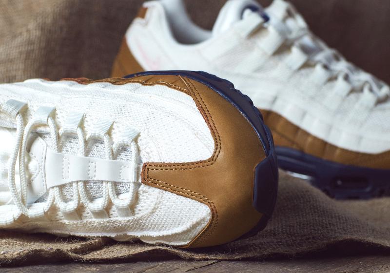 chaussure Nike Air Max 95 PRM Ale Brown Pearl Pink Mid Navy (2)