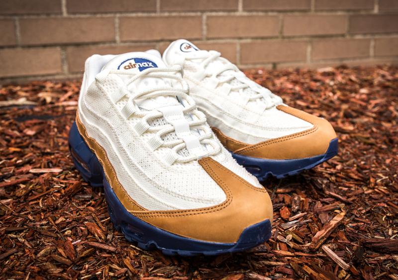 chaussure Nike Air Max 95 PRM Ale Brown Pearl Pink Mid Navy (3)