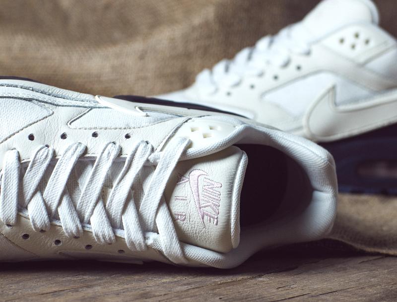 chaussure Nike Air Max BW Premium Sail Midnight Navy Ale Brown (3)