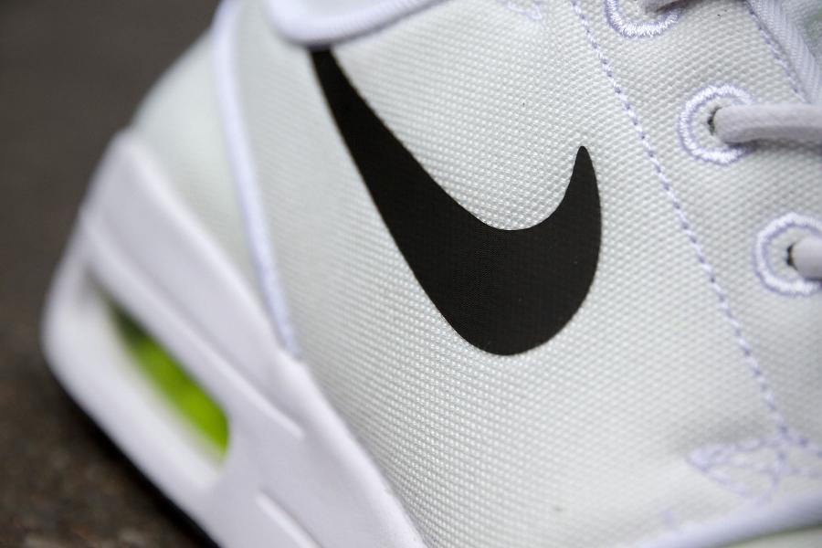 chaussure Nike SB Janoski Max White Volt (2)
