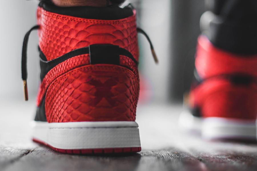 Air Jordan 1 Retro High Banned Python Horween - @theshoesurgeon (2)
