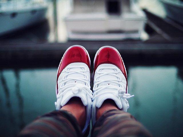 Air Jordan 11 Retro Low Cherry - @solemerchants
