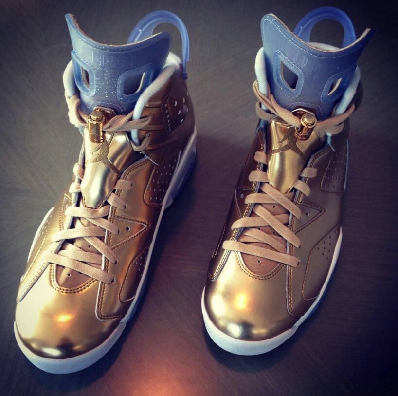 Air Jordan 6 Pinnacle Liquid Gold