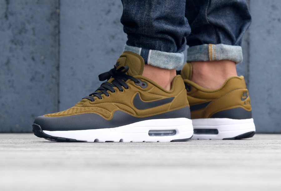 Avis Basket Nike Air Max 1 Ultra Special Edition Olive Flak Khaki