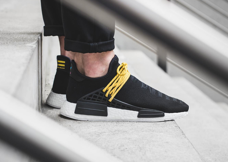 PW x Adidas Originals NMD Primeknit 'Human Being'
