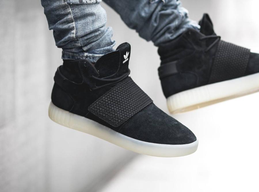 Chaussure Adidas Tubular Invader Strap Black (noire) (1)