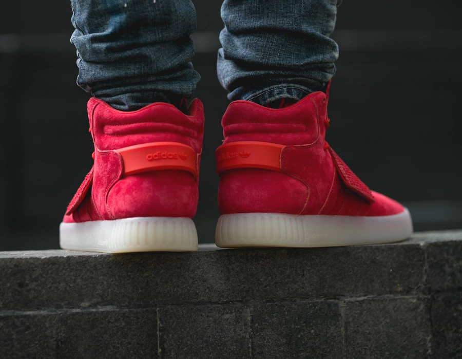 Chaussure Adidas Tubular Invader Strap Red (rouge) (3)