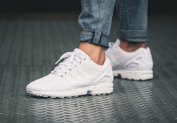 Adidas ZX Flux W 'White Flowers'