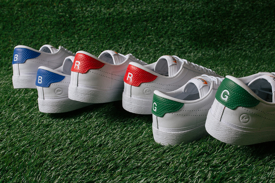 Le pack Fragment Design x Nike Tennis Classic AC 'Red, Green & Blue'