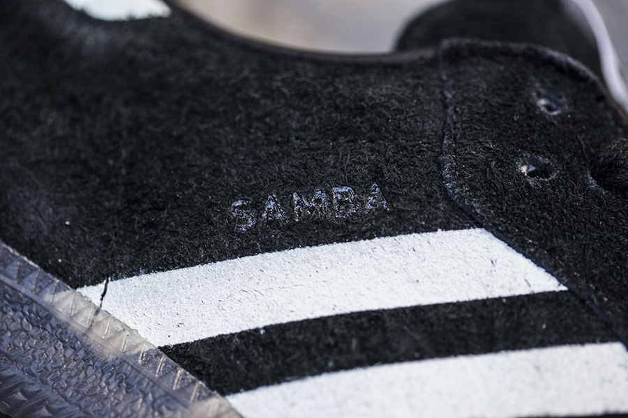 Chaussure Livestock x Adidas Samba Black Suede (3)