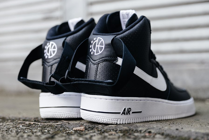 Chaussure Nike Air Force 1 High 07 Perf Black (3)