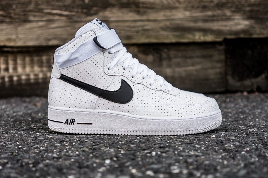 Chaussure Nike Air Force 1 High 07 Perf White (2)