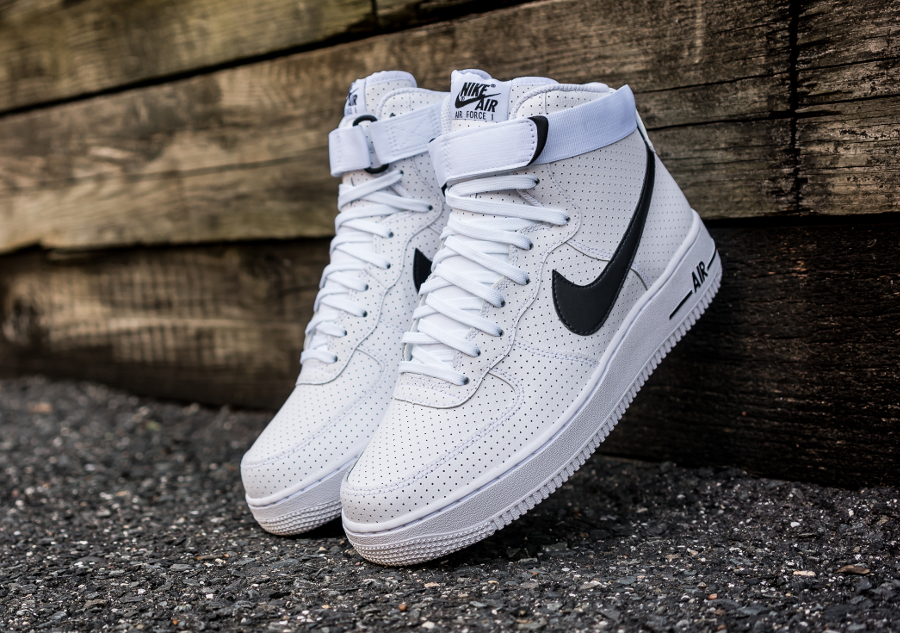 Chaussure Nike Air Force 1 High 07 Perf White (5)