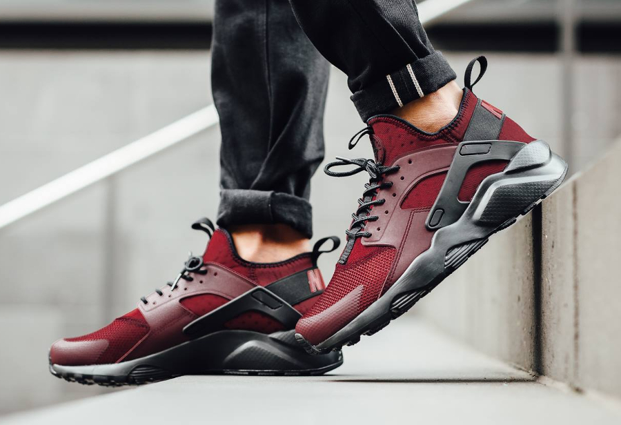 Où trouver la Nike Air Huarache Ultra Run 'Bordeaux' ?