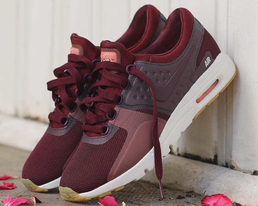 Chaussure Nike Air Max Zero Night Maroon (1)