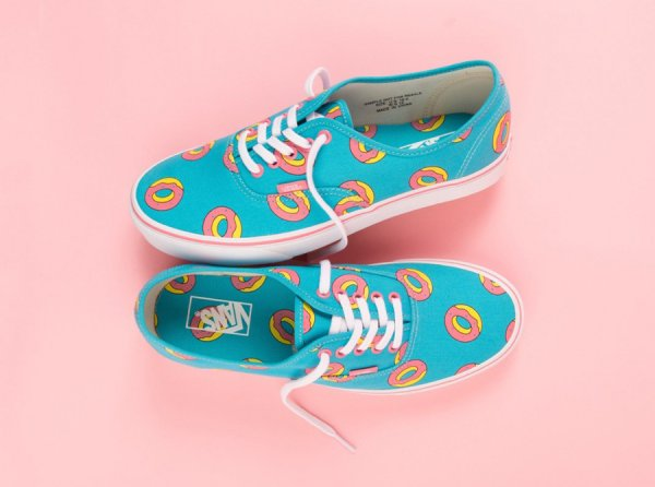Le pack Odd Future x Vans 'Teal/Pink'