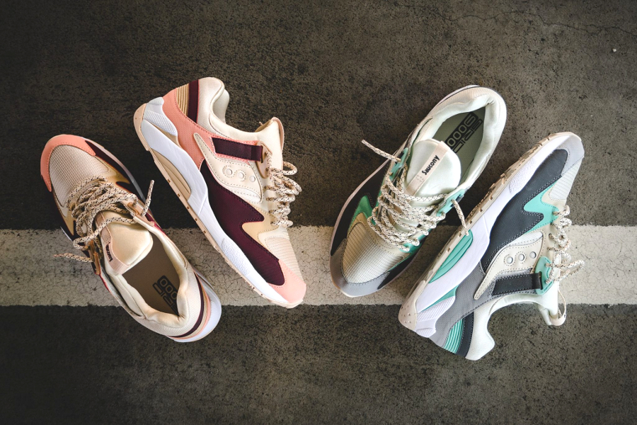 chaussure-saucony-grid-9000-pastel