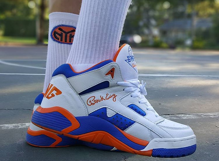 Ewing Wrap Mid Knicks - @_goody_two_shoes