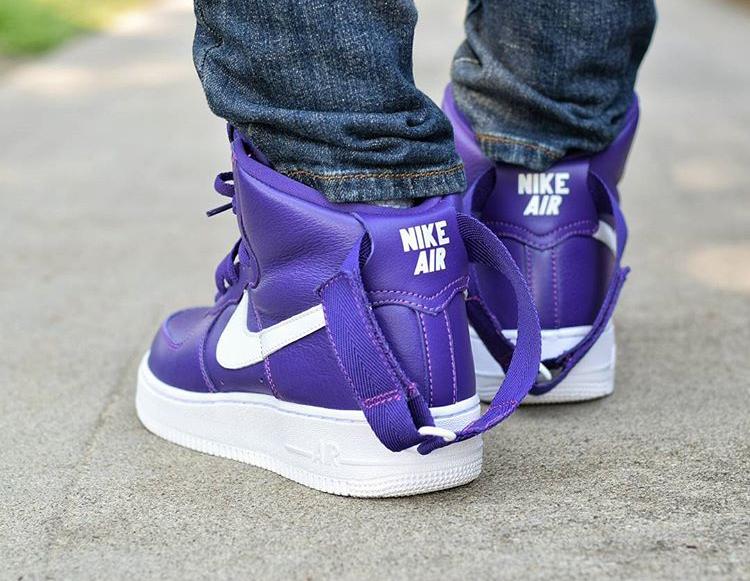 Nikelab Air Force 1 High Purple - @_j_dalene_