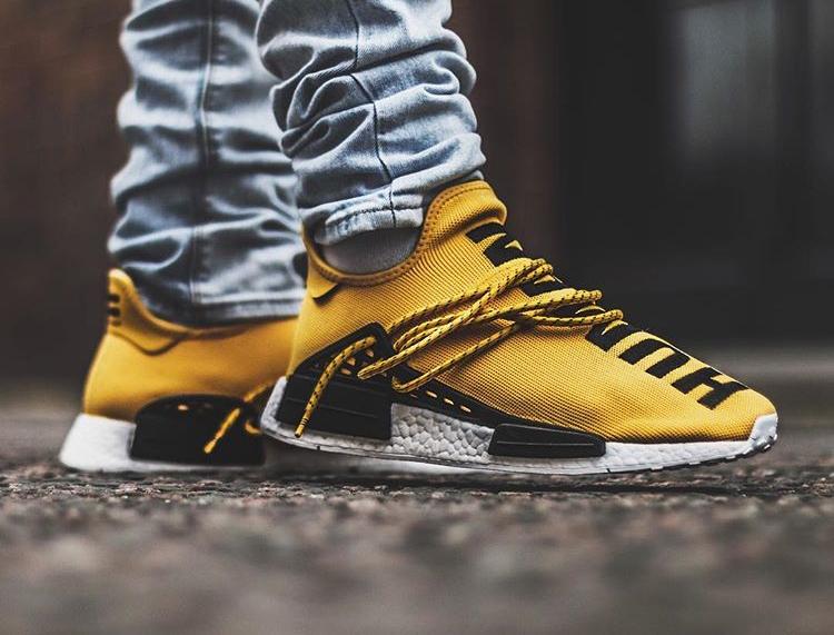 Pharrell Williams x Adidas NMD Human Race - @vivianfrank
