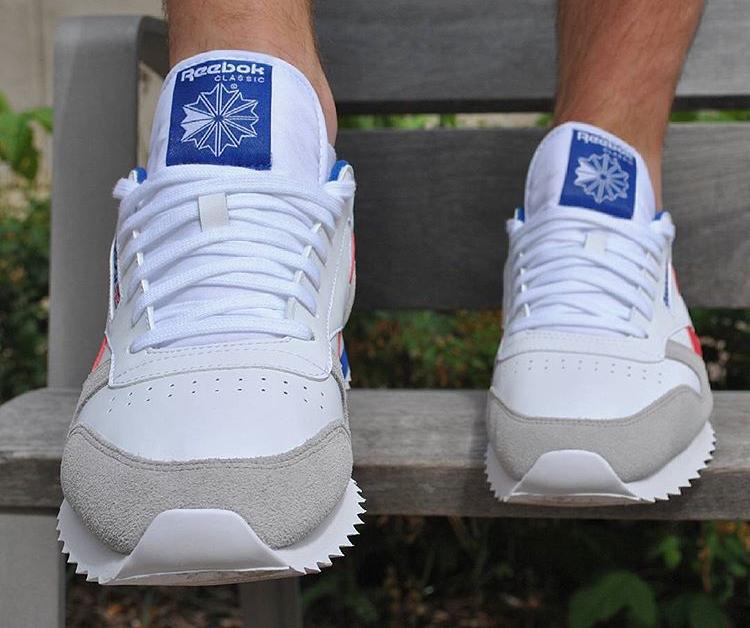 887e8ca2146 ... france reebok ripple low bp blue 38380 703d8 sweden reebok mens classic  leather ripple low bp sneaker black white ...
