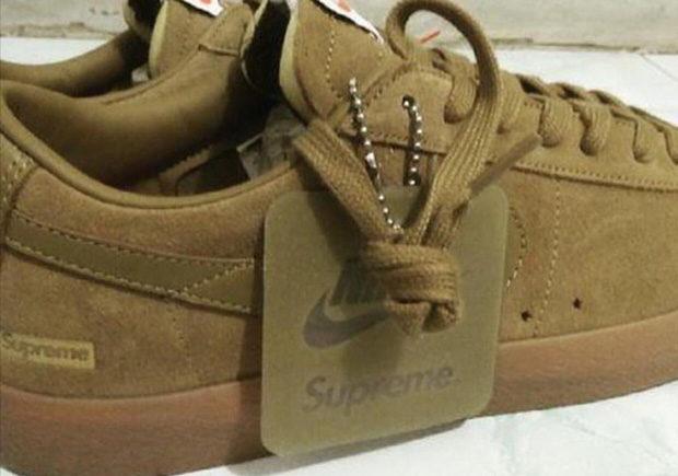 Supreme x Nike Blazer Low SB