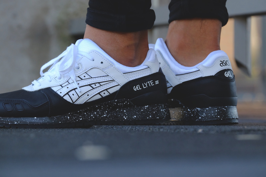 Le pack Asics Gel Lyte 3 Premium 'Oreo' Black/White