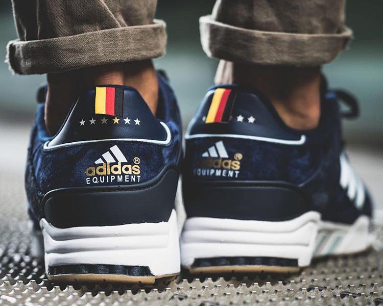 3b0d955e9a77 Où trouver la Adidas EQT Support 93 Navy  Berlin Marathon