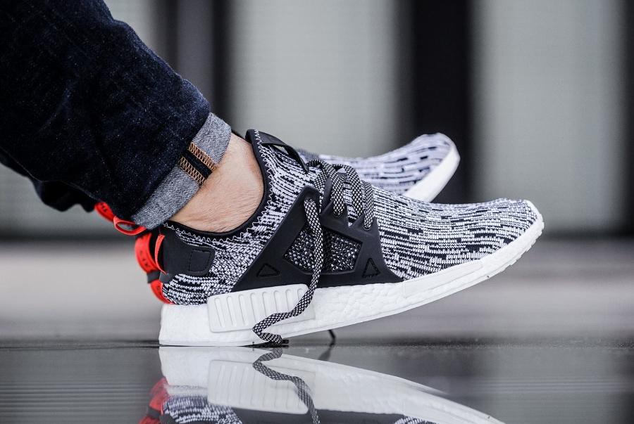 Où trouver les Adidas NMD XR1 PK White Noise 'Grey & Black' ?